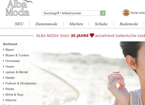 timeless design new arrivals outlet store Nach Verkauf an Klingel: Alba Moda wird umstrukturiert ...