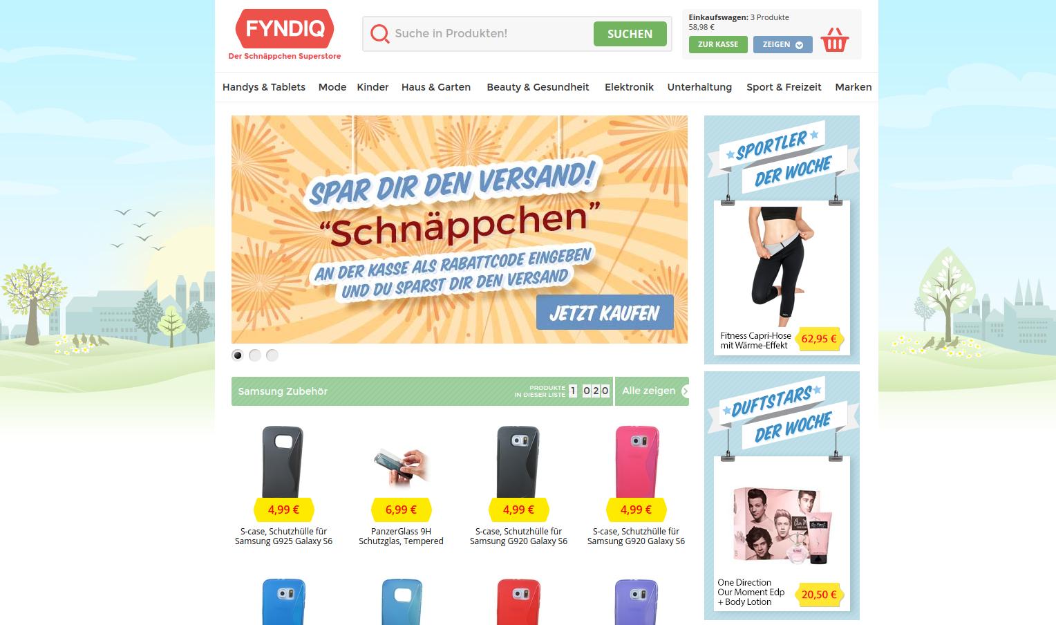 fyndiq kontakt mail