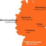 Zalando Logistik-Standorte