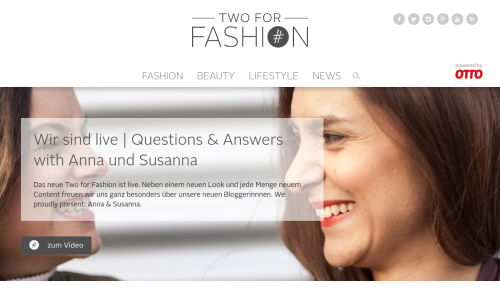 Two For Fashion Otto-Blog
