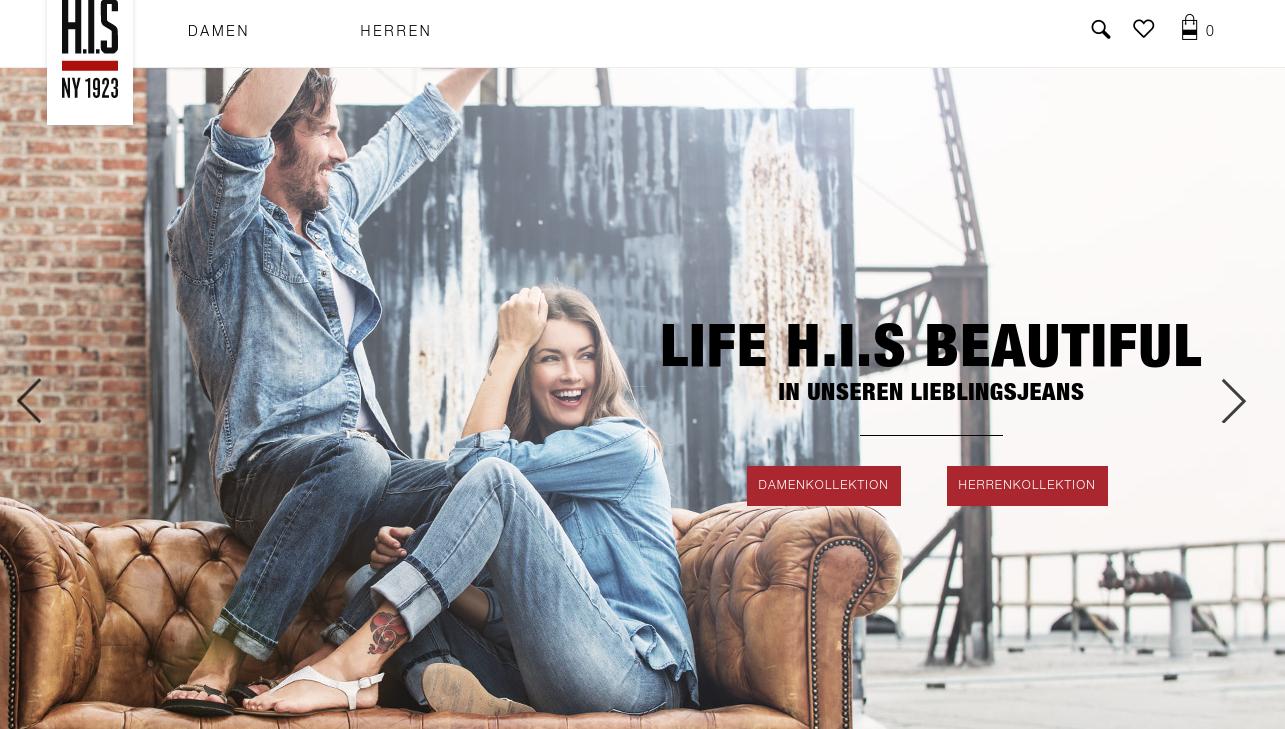 jeans marke h i s otto gruppe verst rkt management team e commerce f r. Black Bedroom Furniture Sets. Home Design Ideas
