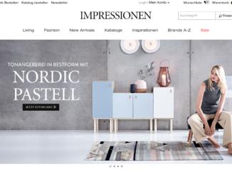 Impressionen Online-Shop
