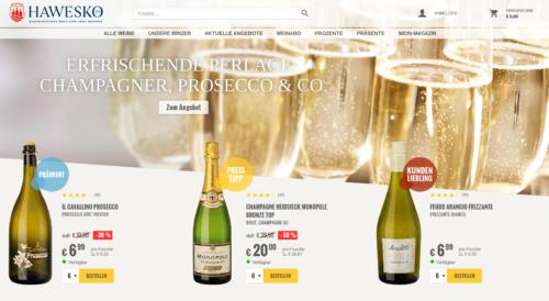 Hawesko Online-Shop
