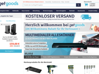 GetGoods.com Aufmacher