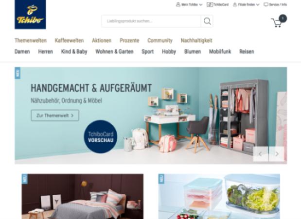 tchibo online shop e commerce f r entscheider. Black Bedroom Furniture Sets. Home Design Ideas