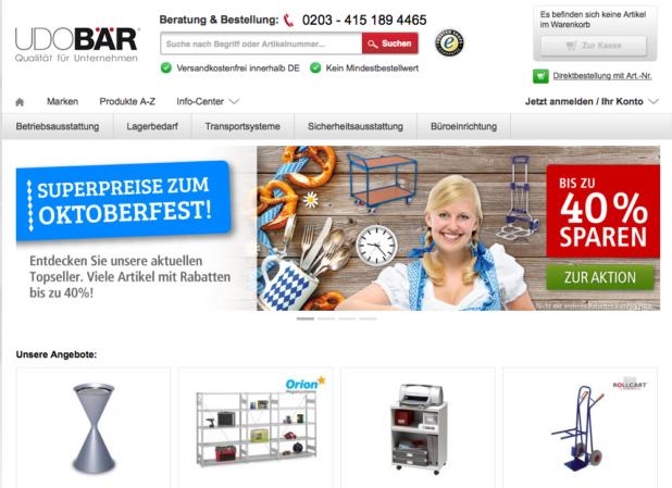 Udo Bär Online-Shop
