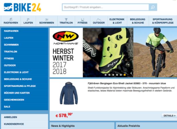 c2ee8c4ec28b55 Offiziell  Fahrrad-Versender Bike24 wechselt den Besitzer - neuhandeln.de -  E-Commerce für Entscheider