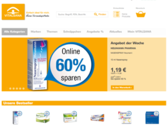 Vitalsana Online-Shop