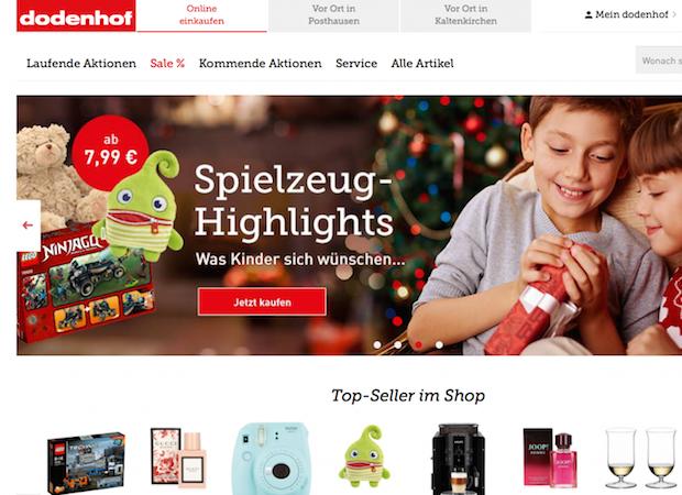 shop statt marktplatz dodenhof startet online vertrieb e commerce f r entscheider. Black Bedroom Furniture Sets. Home Design Ideas