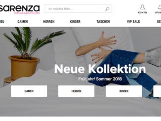 Sarenza Online-Shop