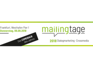 Mailingtage 2018