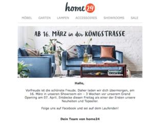Home24 Showroom
