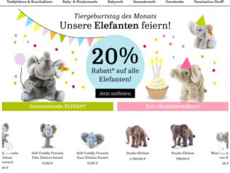 Steiff.com Online-Shop
