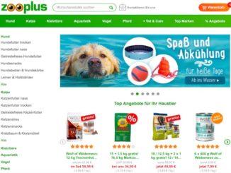 Zooplus Online-Shop