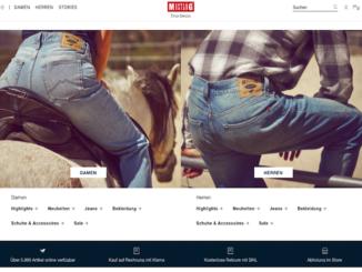 Mustang Online-Shop