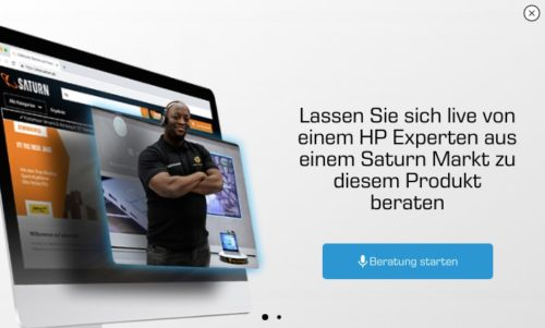 Saturn Video Beratung Start