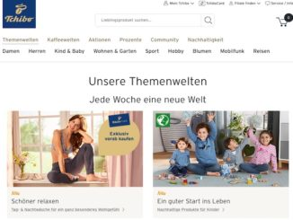 Tchibo Online-Shop
