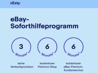 eBay Soforthilfe