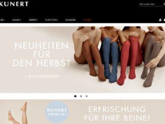 Kunert Online-Shop