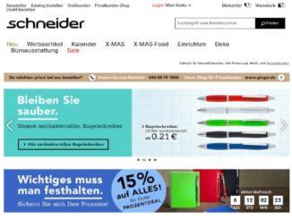 Schneider Online-Shop