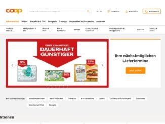 Coop Online-Supermarkt